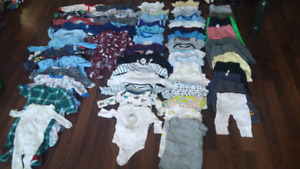 Newborn and 0-3 months clothes