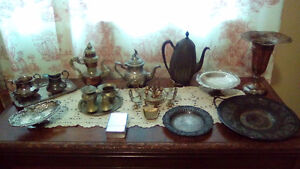 Old silver plate