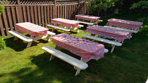 Picnic table buy or sell patio garden furniture in for Outdoor furniture kijiji