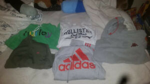 boys size 8 to 12 lot med to large Name brand clothes