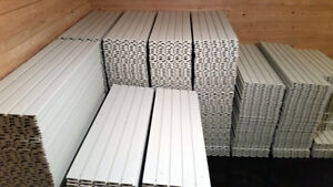 Slatwall (PVC type) for sale (located in Orangedale, CB)