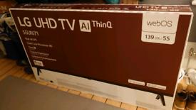 Brand New LG 55 4K UHD - sell or swap!