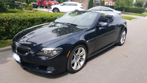 2010 650i Convertible powerful 4.8L v8 w/ M package