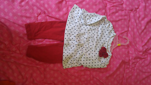 NWOT Fisher price brand 3-6 month outfit