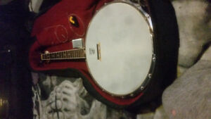 Grestch 1951 new yorker 4 string banjo good condition
