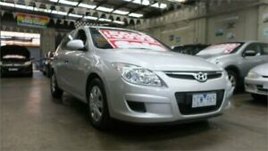 2010 Hyundai i30 FD MY10 SX Silver 5 Speed Manual Hatchback Mordialloc Kingston Area Preview