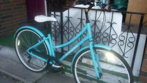 HYBRID bikes and VINTAGE bike.