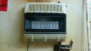 30,000 btu Radiant natural gas heater