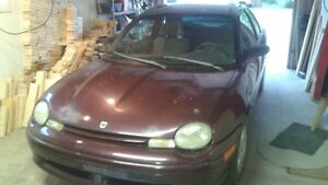 1999 Dodge Neon Coupe (2 door)