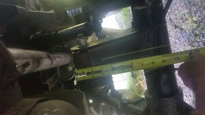 88 jeep yj chevy 350 1 ton axles trade for SxS or 2 4x4 quads Comox / Courtenay / Cumberland Comox Valley Area image 8