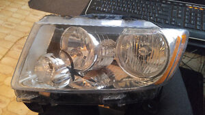 GRAND CHEROKEE 2011 2012 2013 OEM LUMIERE GAUCHE LEFT HEADLAMP