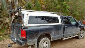 Truck Canopy ---White REDUCED TO SELL