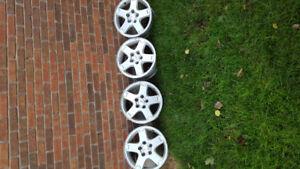 16 inch Pontiac torrent rims