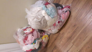 2 large bags of baby girl clothes/accessories