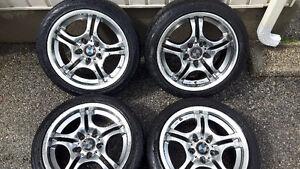 "17"" BMW rims needs tires"