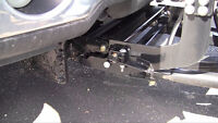 Snowdogg snow plow - Ford F150 mounting kit
