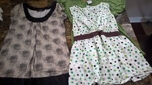 Large Maternity tops