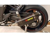 Z1000/Z1000SX Akrapovic Carbon Fibre Exhausts