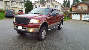 2006 Ford F-150 SuperCrew Lariat, 4x4, LIFTED F150