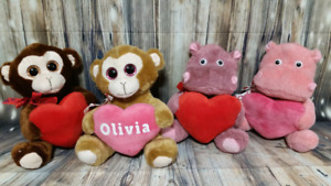 Personalized Valentine's Day Stuffed Animals