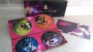 Zumba Exhilarate 4 DVD set - never been used!!