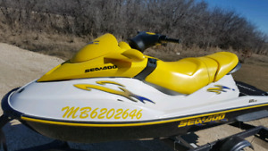 Seadoo Gti Le  3 seater fuel injected