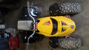1986 lt80 frame with 5.5hp yama engine and other fenders