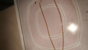 Chaine torsade en or 10k 24 pouce (italy) 10k gold chain 24inch