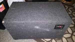 Sub box,amp,deck and all the wiring  Kitchener / Waterloo Kitchener Area image 6