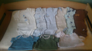 Nb/0-3 month boys clothes