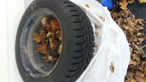 SOLD 4 Snow Tires for Sale R16 Belleville Belleville Area image 1