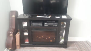 Electric Fireplace with heating and blower