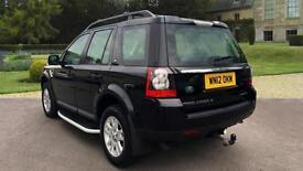 2012 Land Rover Freelander 2.2 TD4 XS 5dr Manual Diesel 4x4