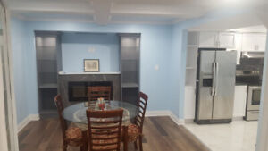 2bed 2 wash rm Basement Apartment For Lease in Brampton