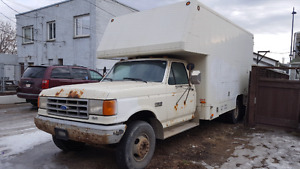 1990 F350 Gas Cargo Van/ Truck- good running shape