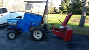 Ford 1210 Diesel Tractor with Snow Blower