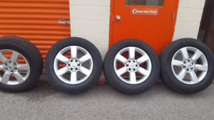 20 inch Nissan Titan rims with Michelin Tires