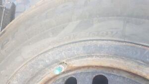 Hankook 235/65R17 WINTER ICE PT EVO tires & rims