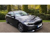 2017 BMW 5 Series 520d M Sport - Sat Nav - Rear Automatic Diesel Saloon