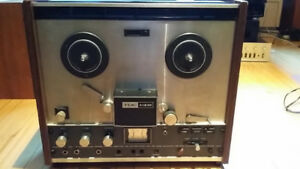 Magnetophone bobine TEAC A-1230 Reel to Reel Tape Deck