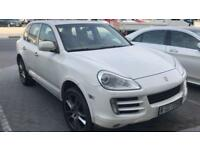 2009 Porsche Cayenne S 4.8 Tiptronic,White,LHD, £220pm 20% DEP