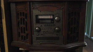 Vintage look stereo with