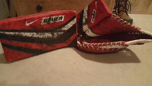SR ONE55 Bauer Goalie Gloves - SM