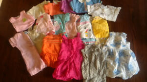 Girls summer clothes 12 months