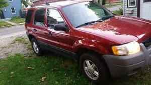 03-05 ford escape