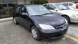 2004 HONDA CIVIC..AUTOMATIC..CERTIFIED & E-TESTED