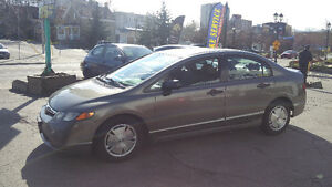 2008 Honda Civic 162,000km AUTOMATIC NO ACCIDENTS!! CERTIFIED!