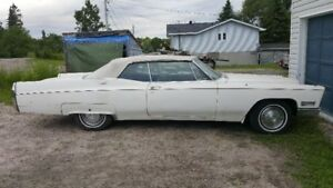 1967 caddy convertible as is