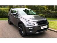 2017 Land Rover Discovery Sport 2.0 TD4 180 HSE Black 5dr - Bl Automatic Diesel