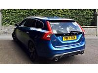 2017 Volvo V60 D6 (220) Twn Engine AWD R DESI Automatic Diesel/Electric Estate